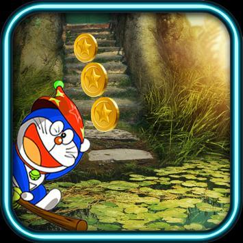 Subway Doraemon Jungle Race poster