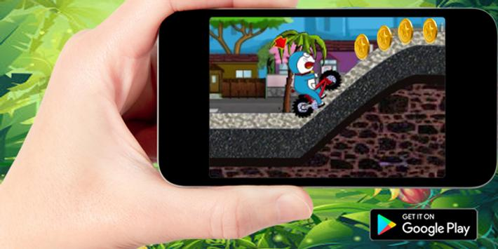 Subway Doraemon Jungle Race screenshot 1