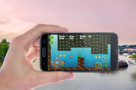 Super world of mario apk screenshot