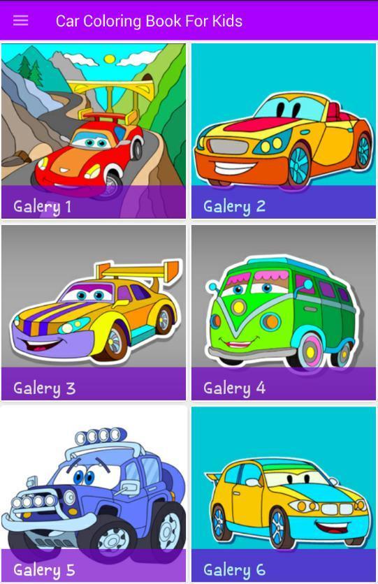كتاب تلوين السيارات للأطفال For Android Apk Download