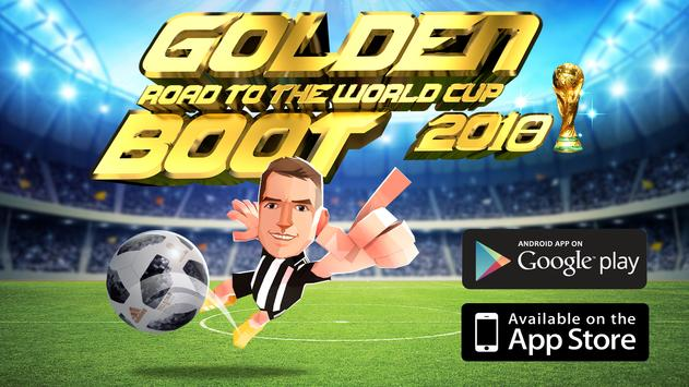 Golden Boot - Road To The World Cup 2018 poster
