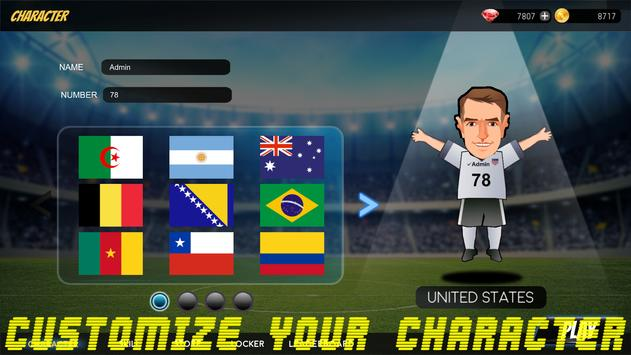 Golden Boot - Road To The World Cup 2018 apk screenshot
