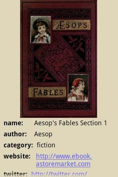 Aesop's Fables Section 1 poster