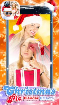Christmas Pic Blender Effects poster