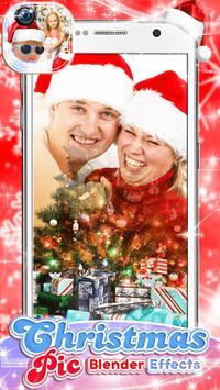 Christmas Pic Blender Effects screenshot 1