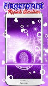 Fingerprint Applock Simulator screenshot 3
