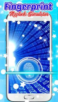 Fingerprint Applock Simulator poster