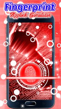 Fingerprint Applock Simulator screenshot 2