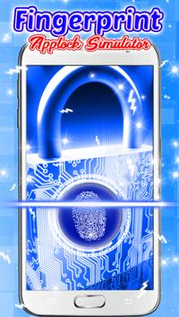 Fingerprint Applock Simulator screenshot 4