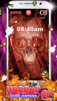 Horror Lock Screen HD apk screenshot