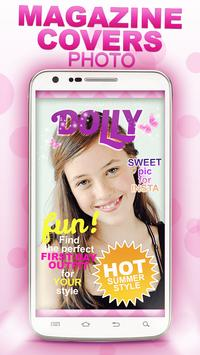 Magazine Covers Photo Editor poster