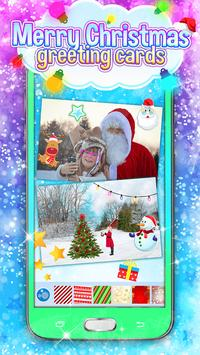 Merry Christmas Greeting Cards poster