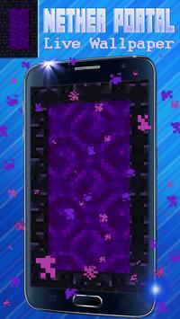 Nether Portal Live Wallpaper poster
