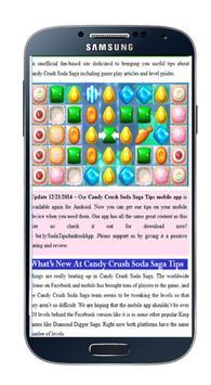 Guide for Candy Crush Soda Sag screenshot 1