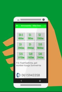 Aflax Data Somnet screenshot 2