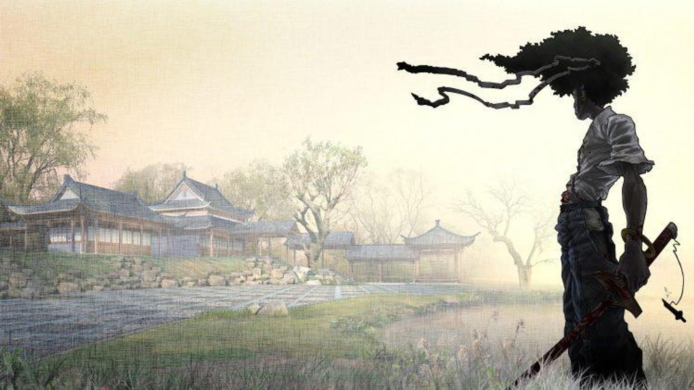 Afro Samurai Wallpaper Screenshot 3