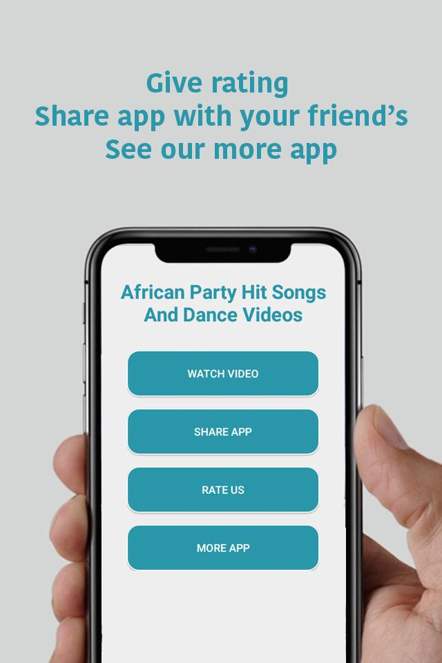 African Party Hit Songs And Dance Videos for Android - APK