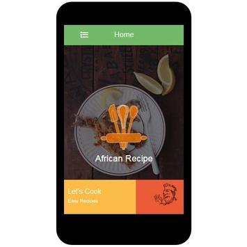 African Recipes screenshot 1