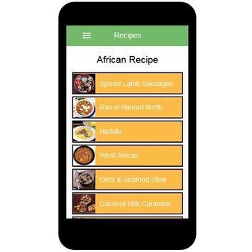 African Recipes screenshot 2