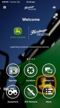 Heritage Tractor poster