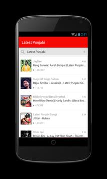 Latest Punjabi Songs screenshot 1