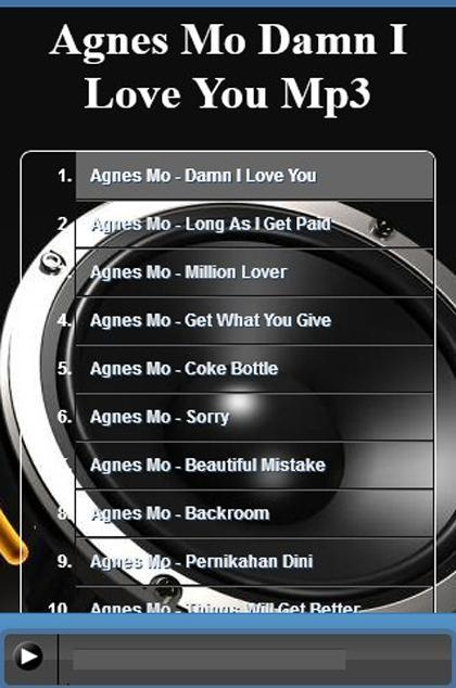 agnez mo damn i love you mp3 free download