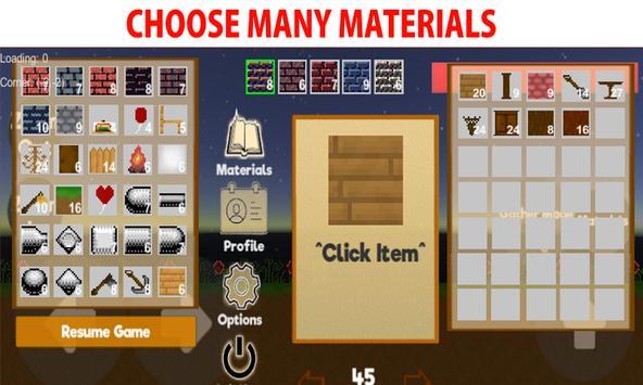 Atrium - 2D Sandbox World Builder (Retro) screenshot 1