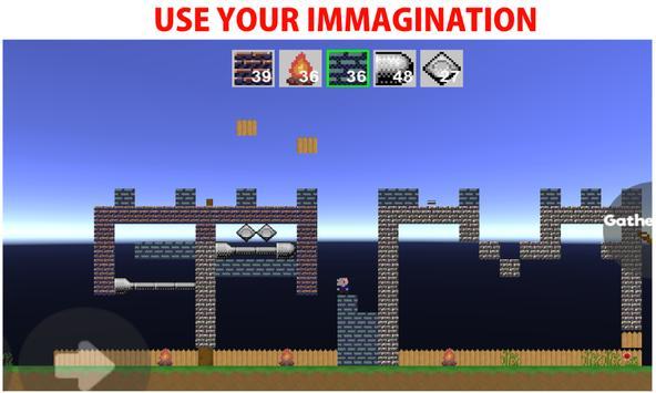 Atrium - 2D Sandbox World Builder (Retro) screenshot 2