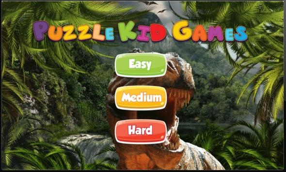 Dinosaur Puzzles Game for Kids screenshot 1