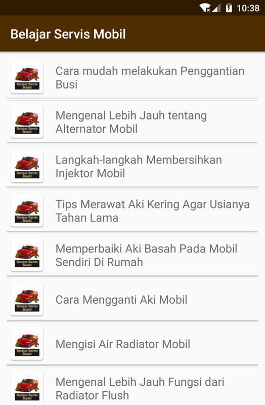 Belajar Servis Mobil For Android Apk Download