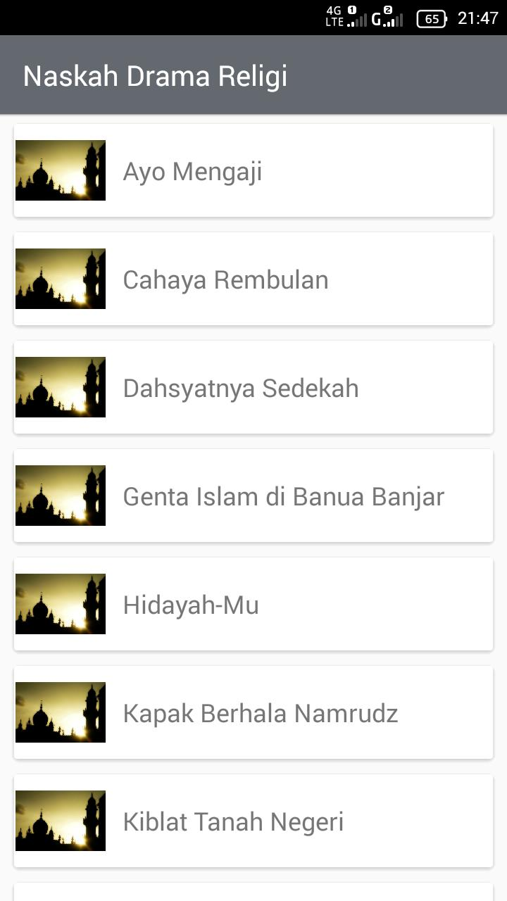 Kumpulan Naskah Drama Lengkap for Android - APK Download