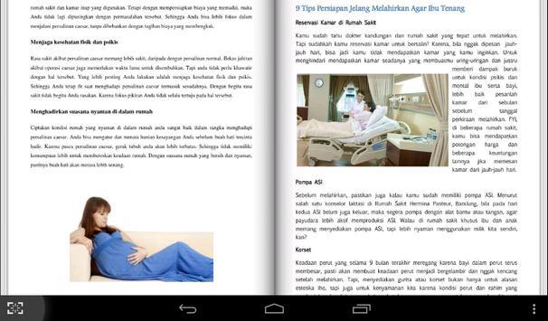 Panduan Ibu Hamil Lengkap apk screenshot