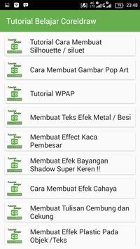 Tutorial Belajar Coreldraw screenshot 3