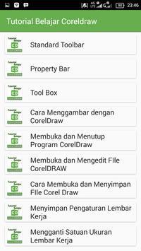 Tutorial Belajar Coreldraw screenshot 7