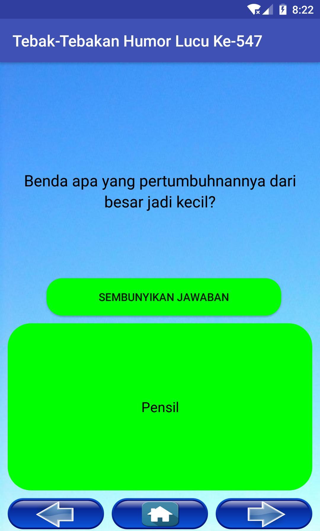 1500 Tebak Tebakan Humor Lucu For Android Apk Download