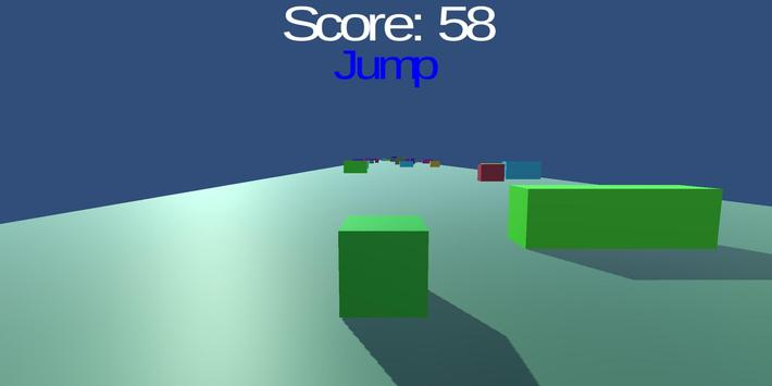 Cube Runner screenshot 1