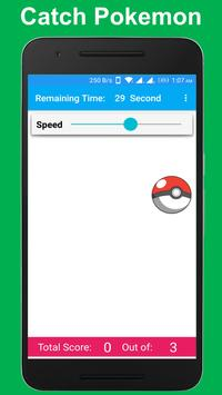 Catch Pokemon Go Game poster