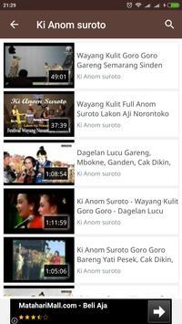 Wayang Kulit Lucu GORO GORO apk screenshot
