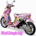 Airbrush Motorcycle Design