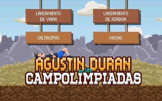 Agustín Durán en las Campolimpiadas screenshot 4