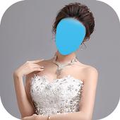 صورتك في فستان زفافك icon