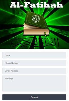 Surah Al - Fatihah Mp3 screenshot 1