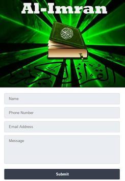 Surah Al - Imran Mp3 screenshot 1