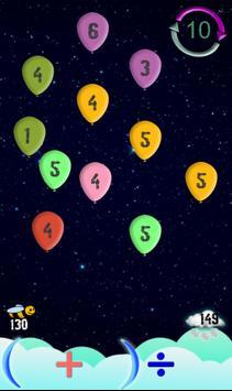 Flying Numbers apk screenshot