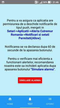 Avertizare Cutremur Romania screenshot 2