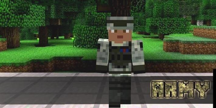 Army Skins For MCPE poster