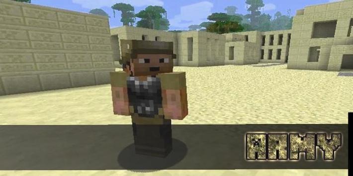 Army Skins For MCPE apk screenshot