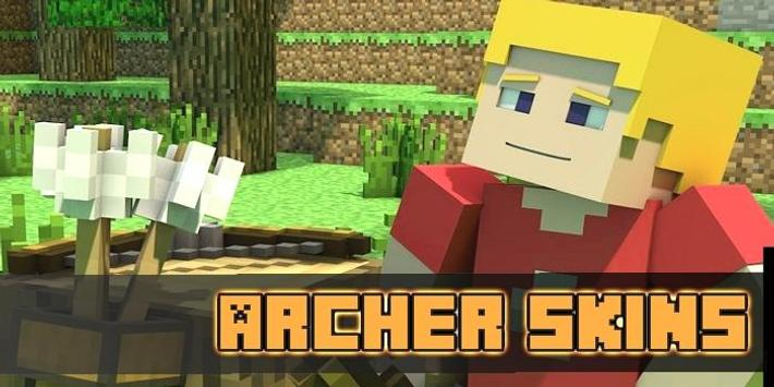 Archer Skins Pack for MCPE poster