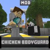 Chicken Bodyguard Mod for MCPE icon