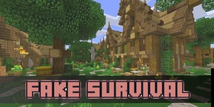 FakeSurvival Pack for MCPE apk screenshot